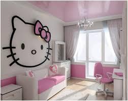 hello kitty girls room designs