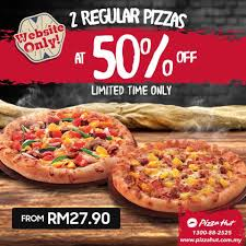 Pizza Hut Malaysia Promotion 2017 50% Discounts Deal ... Pizza Hut Latest Deals Lahore Mlb Tv Coupons 2018 July Uk Netflix In Karachi April Nagoya Arlington Page 7 List Of Hut Related Sales Deals Promotions Canada Offers Save 50 Off Large Pizzas Is Offering Buygetone Free This Week Online Code Black Friday Huts Buy One Get Free Promo Until Dec 20 2017 Fright Night West Palm Beach Coupon Codes Entire Meal Home Facebook Malaysia Coupon Code 30 April 2016 Dine Stores Carry Republic Tea