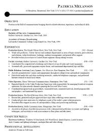 Internship Resume Examples For Objective With Education And Experience As Faculty Assistant