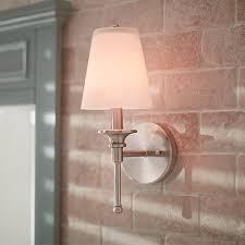 attractive wall sconce lights for bathrooms designer bathroom wall