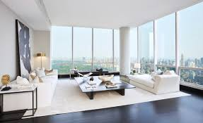 100 Trump World Tower Penthouse Modern New York Living Room Modern