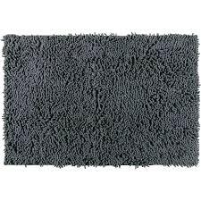 wenko badteppich chenille 50 cm x 80 cm grau