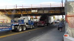 Long Island Truck Into Overpass Spurs Announcement On Bridge Raising ... New York Buff Media Truck Driver Pinned After Striking Overpass Hits Overpass Delays Train In Haven Wtnh Bridge Rolls Over On 8th Ave Offramp From I25 Fox31 Flatbed Truck Carrying Box Monroe Heraldnetcom Same Southern State Parkway Struck April Bus Cp Rail Coquitlam Scanbc Twitter Crews Scene With A Crane Hits Route 9 Berlin Nbc Connecticut 100th St Hit Again 4th Time This Year Stuck Under Closes Eries French Street News Nashville Inrstates Close After Semi Tctortrailer Fdr Drive Backs Up Traffic Wpix