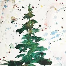 12 Days Of Christmas Cards Tree Jennifer Branch Art Journal