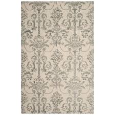 Bella Rug by Safavieh Bella Ivory Gray 5 Ft X 8 Ft Area Rug Bel917a 5 The