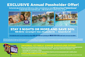 Halloween Horror Nights Annual Passholder Early Admission by Universal Annual Passholders Exclusive Ride Times For