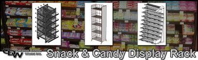 Snack Candy Display Racks
