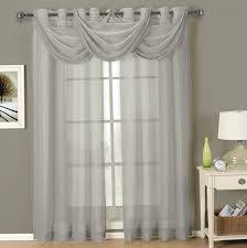 Sheer Curtain Panels With Grommets by Blue Curtain Panels With Grommets Home Design Ideas