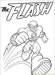 Amazing The Flash Coloring Pages 78 For Free Kids With