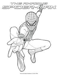 Coloring Pages Spiderman Book Download Preschool Spider Man Picture Color Videos