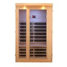 canadian spa co huron 2 person carbon far infrared sauna
