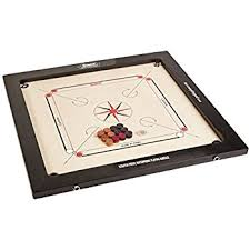 Surco Vintage Carrom Board With Coins And Striker 8mm