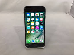 Apple Iphone 6 64gb Space Gray At Cracked No Sim Tray