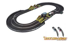 100 Monster Truck Track Set Scalextric C1302 Mayhem Slot CarUnion