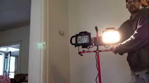 craftsman halogen worklight with tripod