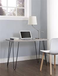 Mainstays Desk Chair Gray by Amazon Com Ameriwood Home Owen Retro Desk Weathered Oak Kitchen
