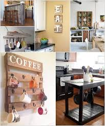 Make Use Of Pallets To Create Different Projects For The Kitchen Introduce Rustic Style On A Budget