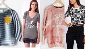 Zaras Holocaust Shirt Urbans Kent State Sweatshirt Offensive
