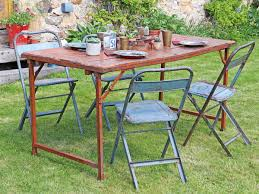 Vintage Metal Folding Table - Red Coaster Cleveland 5pc Oval Retro Ding Table Set In Whitechrome 3925 White Metal Tulip Outdoor Kitchen And Chairs Wooden Garden Chair 42 Extraordinary Room Zinc Small Lewis Gumtree Winsome Details About Industrial Rectangle Oak Vintage Leather Spring Colorful Amazing 3 Pcs And Frame Walnut Black Sets Legs Menards Base Dinette Home Glass Top Only An Argos Ideas John Tables Round Chrome Ipirations 1950s