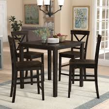 Alcott Hill Reeves 5 Piece Counter Height Dining Set & Reviews ... Fascating Table Argos Repel Tables Corner St Design Standard Charthouse Counter Height Ding And 6 Stools Gray Value Bar Sets Canada Small Black Square Dinette Round Tommy Bahama Outdoor Living Kingstown Sedona 3 Piece Pub Set 25 Best Bar Stool Patio Set 59 Beautiful Gallery Ipirations For Patio Hire Chairs Target Highboy Space Office Room Chair Darlee Mountain View Cast Alinum Sling High Fniture And In Orland Park Chicago Il Darvin