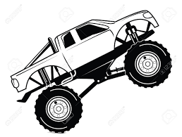 Monster Truck Outline With Free Clipart - The Cliparts Monster Truck Xl 15 Scale Rtr Gas Black By Losi Monster Truck Tire Clipart Panda Free Images Hight Pickup Clipart Shocking Riveting Red 35021 Illustration Dennis Holmes Designs Images The Cliparts Clip Art 56 49 Fans Jam Coloring Muddy Cute Vector Art Getty Coloring Pages Of Cars And Trucks About How To Draw A Pencil Drawing