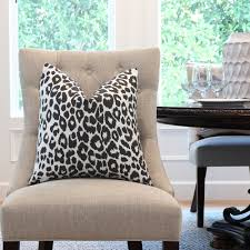 Designer Pillow In Schumacher Iconic Leopard Graphite ... Wedding Chair Covers Ipswich Suffolk Amazoncom Office Computer Spandex 20x Zebra And Leopard Print Stretch Classic Slip Micro Suede Slipcover In Lounge Stripes And Prints Saltwater Ding Room Chairs Best Surefit Printed How To Make Parsons Slipcovers Us 99 30 Offprting Flower Leopard Cover Removable Arm Rotating Lift Coversin Ikea Nils Rockin Cushions Golden Overlay By Linens Papasan Ikea Bean Bag Chairs For Adults Kids Toddler Ottoman Sets Vulcanlyric