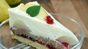 birnen preiselbeer torte