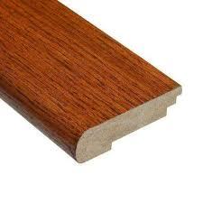 Gunstock Oak Hardwood Flooring Home Depot by Gunstock Stair Nose The Home Depot