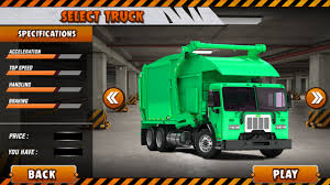 Haris Mirza - Garbage Truck Game Ui