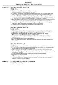 Lab Research Assistant Resume Samples | Velvet Jobs Resume For Research Assistant Sample Rumes Interns For Entry Level Clinical Associate Undergraduate Assistant Example Executive Administrative Labatory Technician Free Lab Examples By Real People Market Objective New Teacher Aide No Experience Elegant Luxury Psychology Atclgrain Biology Ixiplay
