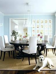 Interesting Blue Dining Room Walls Ideas Light