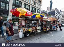 100 New York City Food Trucks USA July 25 2018 Various Food Truck Of Hot Dog