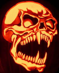Vampire Pumpkin Stencils by Fang Skull By Kenklinker On Deviantart