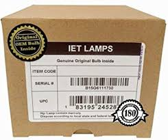 iet ls genuine original replacement bulb l with housing