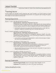 Resume Nursing Samples Lovely New Registered Nurse Examples Resumes For Sample Newly Nurses Case Manager With No Experience Without Philippines Pdf