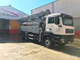 100 Concrete Pump Trucks Used MAN TGA 28350 SCHWING KVM 34 X BR03 Concrete Pump Trucks Year
