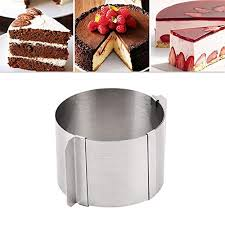 pings edelstahl versenkbare kuchenform runde form kuchen