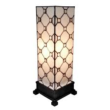 Home Depot Tiffany Style Lamps by Tamworth 18 In White Ceramic Table Lamp Tn 999987 The Home Depot