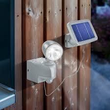 projecteur solaire détection de mouvement 1w sur solairepratique