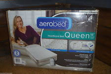 the original aerobed pressure with headboard bed queen size air