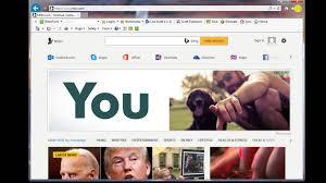 Make MSN the default web page