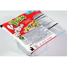 General MillsR Trix Cereal Bowl Case Of 96