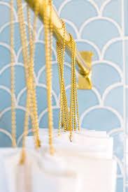 Nicole Miller Home Chevron Curtains by Best 25 Gold Shower Curtain Ideas On Pinterest Shower Curtain