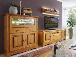 wohnwand set florenz 1 barschrank 1 tv lowboard 1 wandbord pinie nordica massiv