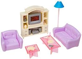Barbie Fashion Living Room Set by Amazon Com My Fancy Life Barbie Size Dollhouse Furniture Living