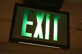 how to replace an exit sign hunker