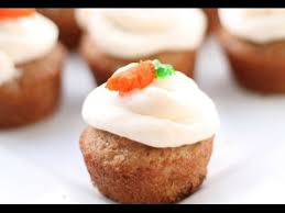 How to make Mini Carrot Cup Cakes Dessert