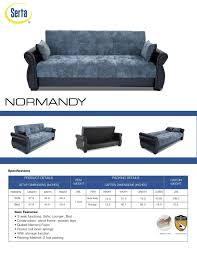 Serta Dream Convertible Sofa by Furniture Serta Convertible Sofa For Your Furniture And Living