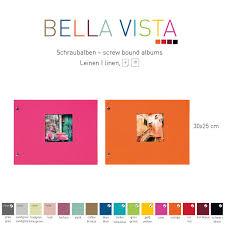 Fotoalbum Bella Vista Schraubalbum Mittel » Fotoalbumshop