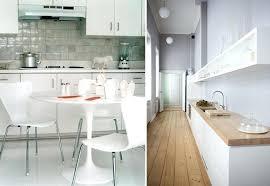 deco cuisine blanc et bois cuisine en bois blanc finest cuisine bois et bton cir blanc with